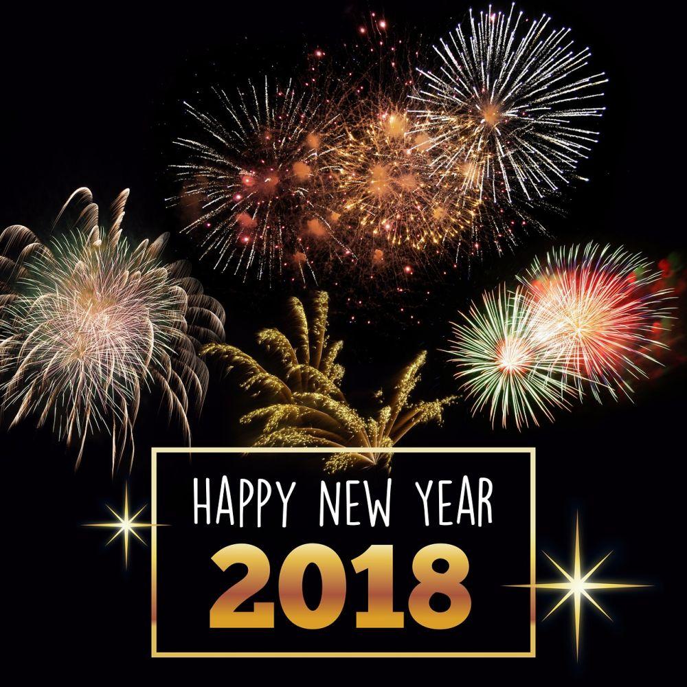 Gutes neues Jahr 2018