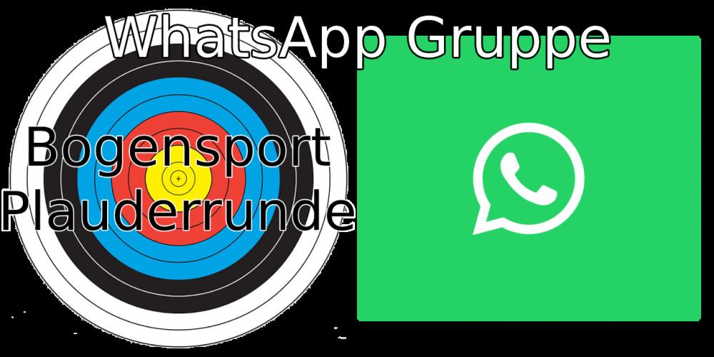 WhatsApp Gruppe Bogensport Plauderrunde