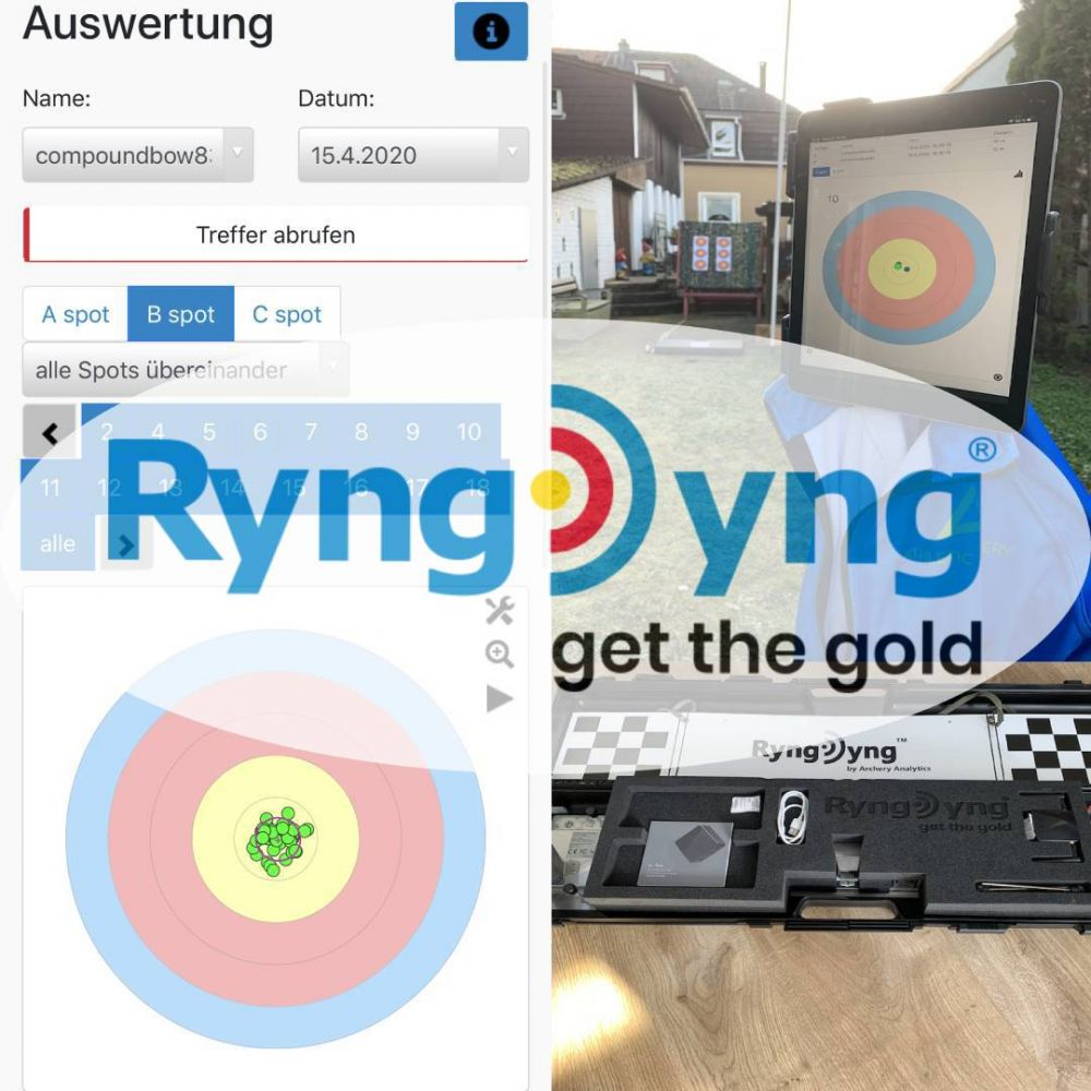 RyngDyng© Pfeilspotter und Analysegeräte